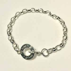 Shop Charm Bracelet Blanks! Silver Plated Charm Bracelet Blanks, Chain Link With Toggle Fastening Ready For Adding Your Own Beads Job Lot Of 18   Shop jewelry making and beading supplies, tools & findings for DIY jewelry making and crafts. #jewelrymaking #diyjewelry #jewelrycrafts #jewelrysupplies #beading #affiliate #ad