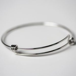 Shop Charm Bracelet Blanks! Stainless Steel Expandable Bangle Bracelet – Charm Bracelet – Expandable Bracelet – Choose Your Size – Stainless Steel Bracelet   Shop jewelry making and beading supplies, tools & findings for DIY jewelry making and crafts. #jewelrymaking #diyjewelry #jewelrycrafts #jewelrysupplies #beading #affiliate #ad