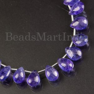 Shop Tanzanite Bead Shapes! Tanzanite Beads, Tanzanite Smooth Beads, Tanzanite Pear Shape Beads, Tanzanite Gemstone Beads, Tanzanite Plain Beads, Blue Tanzanite Beads | Natural genuine other-shape Tanzanite beads for beading and jewelry making.  #jewelry #beads #beadedjewelry #diyjewelry #jewelrymaking #beadstore #beading #affiliate #ad