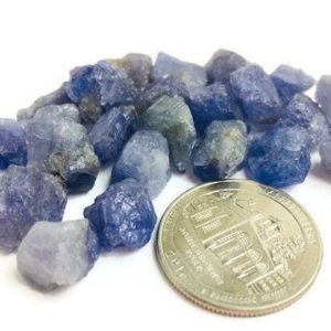 Shop Tanzanite Stones & Crystals! Tanzanite Crystal (3) Raw Tanzanite Stone Rough Crystal Natural Gemstone (XS) Light Blue TANZANIA Africa | Natural genuine stones & crystals in various shapes & sizes. Buy raw cut, tumbled, or polished gemstones for making jewelry or crystal healing energy vibration raising reiki stones. #crystals #gemstones #crystalhealing #crystalsandgemstones #energyhealing #affiliate #ad