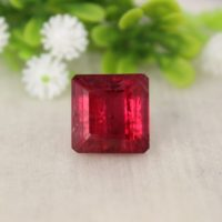 Natural Rubellite Tourmaline 15.63 Cts. Octagon-loose Red Tourmaline Gemstone-pendant Size Tourmaline Gem-rubylite Tourmaline October Gem | Natural genuine Gemstone jewelry. Buy crystal jewelry, handmade handcrafted artisan jewelry for women.  Unique handmade gift ideas. #jewelry #beadedjewelry #beadedjewelry #gift #shopping #handmadejewelry #fashion #style #product #jewelry #affiliate #ad