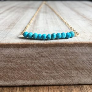 Shop Gemstone & Crystal Necklaces! Turquoise necklace, Edelstein Halskette,personalized gifts, Schmuck   Natural genuine Gemstone necklaces. Buy crystal jewelry, handmade handcrafted artisan jewelry for women.  Unique handmade gift ideas. #jewelry #beadednecklaces #beadedjewelry #gift #shopping #handmadejewelry #fashion #style #product #necklaces #affiliate #ad
