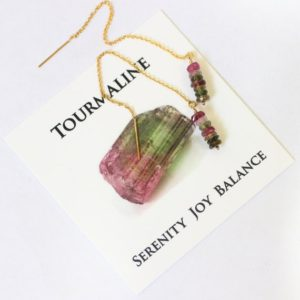 Shop Watermelon Tourmaline Earrings! Watermelon Tourmaline Earrings, Ear Threads, Gemstone Threader Earrings, Gold Filled, Colorful Bead Earrings, October Birthstone Jewelry | Natural genuine Watermelon Tourmaline earrings. Buy crystal jewelry, handmade handcrafted artisan jewelry for women.  Unique handmade gift ideas. #jewelry #beadedearrings #beadedjewelry #gift #shopping #handmadejewelry #fashion #style #product #earrings #affiliate #ad