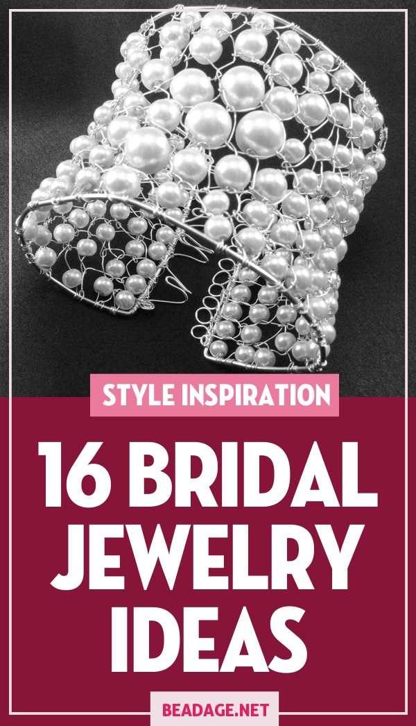 16 Bridal Jewelry Ideas |  | DIY Jewelry Making Ideas, Beading Ideas, Handcrafted Beaded Jewelry, Handmade, Beginners, Tutorials, Craft Projects | Fashion, Accessoreis, Jewels, Gems, Style | #craft #diy #jewelrymaking #beading #beadage #fashion #accessories #jewelry #style
