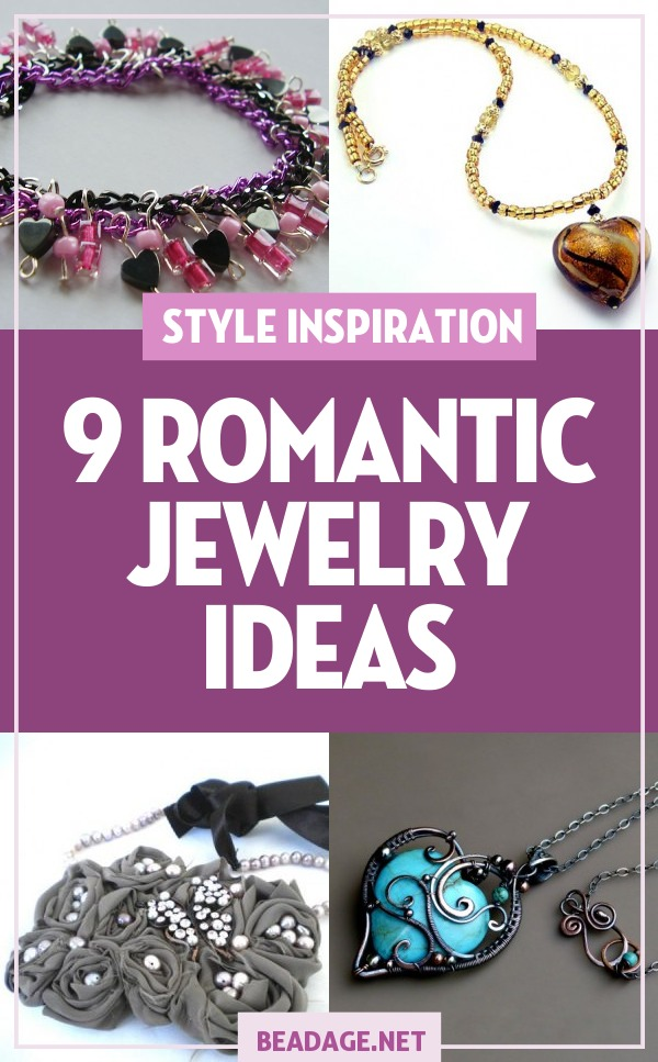 9 Romantic Jewelry Making Ideas | Whether you're looking for a Valentine's or anniversary gift idea or just love soft pinks and purples, here are some projects for you to try! | DIY Jewelry Making Ideas, Beading Ideas, Handcrafted Beaded Jewelry, Handmade, Beginners, Tutorials, Craft Projects | Fashion, Accessoreis, Jewels, Gems, Style | #craft #diy #jewelrymaking #beading #beadage #fashion #accessories #jewelry #style