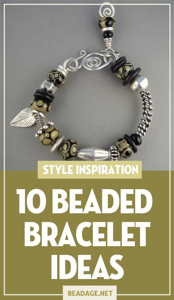 10 Sophisticated Beaded Bracelet Ideas | Want that uptown look on a budget? Beaded jewelry is sophisticated and classy while still being affordable. | DIY Jewelry Making Ideas, Beading Ideas, Handcrafted Beaded Jewelry, Handmade, Beginners, Tutorials, Craft Projects | Fashion, Accessoreis, Jewels, Gems, Style | #craft #diy #jewelrymaking #beading #beadage #fashion #accessories #jewelry #style