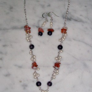 Carmenita Necklace and Earrings Jewelry Idea