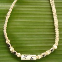 Hawaiian Jewelry Honu Turtle Hemp Chocker Project