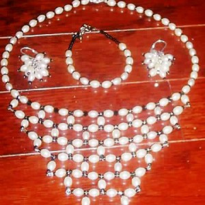 Princess Net Necklace Jewelry Idea