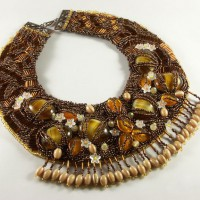 Dance With Beads Bib Necklace Project