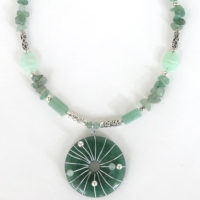 Green Aventurine Pendant Necklace Project