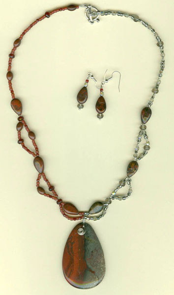 Two Tone Delight Necklace Project