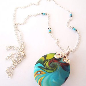 Colours Wrap Necklace Jewelry Idea