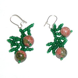 Winter Berry Earrings Project
