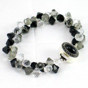 Swarovski Top Drilled Bicone Bracelet Project Idea