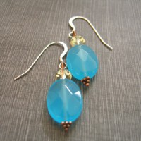 Blue Quartz Earrings Project