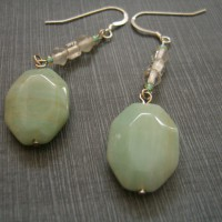 Amazonite Earrings Project