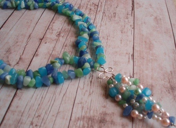 Blue Love Necklace Project