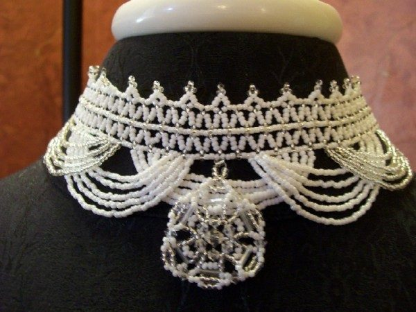 Victorian Wedding Choker Project