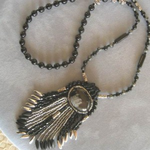 Fringe Galore Pendant Necklace Project