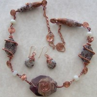 Copper Wire Spiral Necklace Project