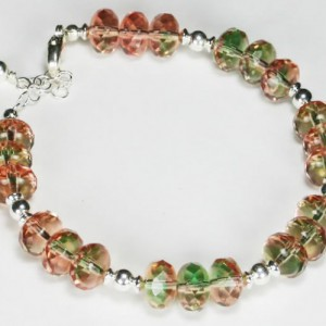 Fluorite Czech Glass Bracelet Project Idea