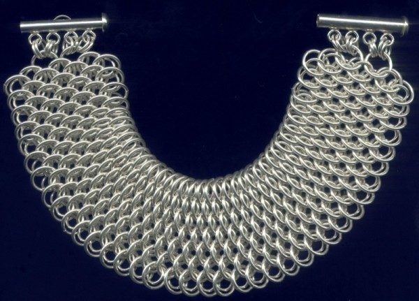 Dragonscale Chain Mail Bracelet Project