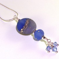 Bluesy Lampwork Pendant Project