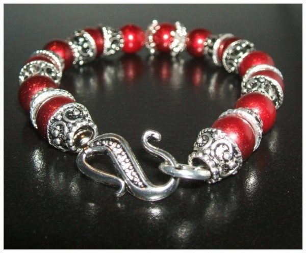 Crimson Rose Bracelet Project
