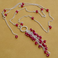 Ruby Wedding Necklace Project