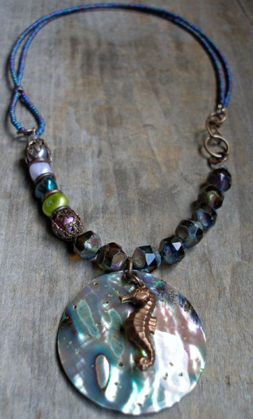 Seahorse Beaded Necklace Project