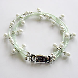 Pearls of the Sea Bracelet Project