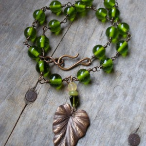 Jungle Fever Necklace Project