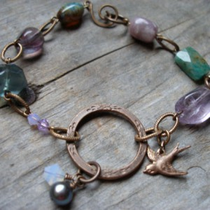 Fly Away Home Charm Bracelet Project Idea