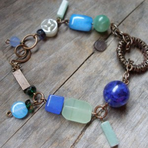 I Have Got The Blues Bracelet Project Idea