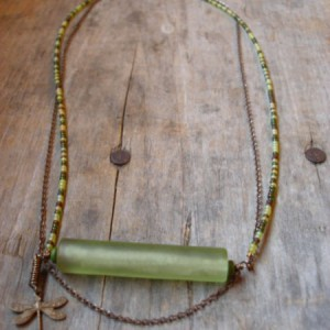 Green With Envy Necklace Jewelry Idea