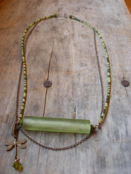 Green With Envy Necklace Project