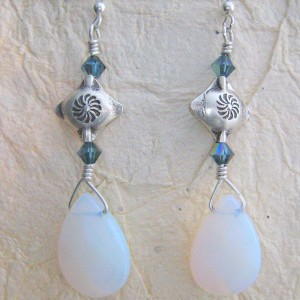 Opalite Skies Earrings Project