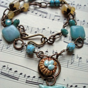 Song Bird Necklace Jewelry Idea