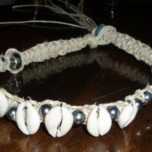 Cowrus Men's Hemp Necklace Project