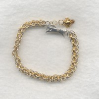 Little Dog Chainmail Bracelet Project