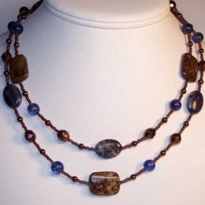 Brazen Necklace Jewelry Idea
