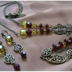 Treasure Box Necklace Set Project Idea