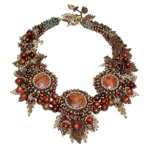 Autumn Splendor Necklace Project Idea