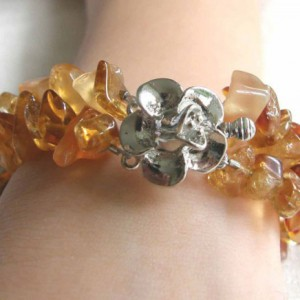 Honey Amber Bracelet Project