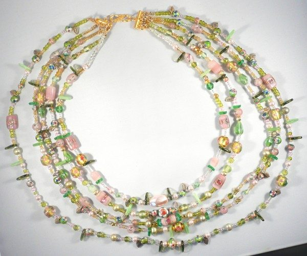 Cherry Blossom Festival Necklace Project