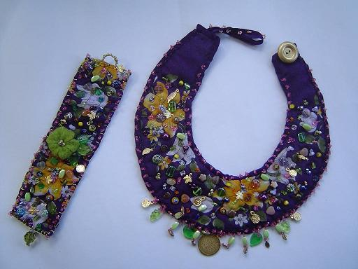 Fabric Necklace Set Project
