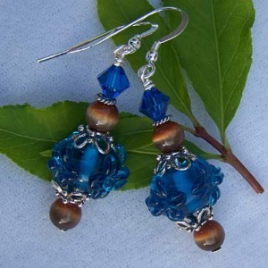 Lampwork Beaded Earrings Project