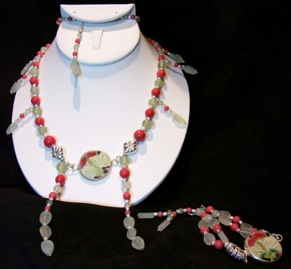 Ming Tea Necklace Project