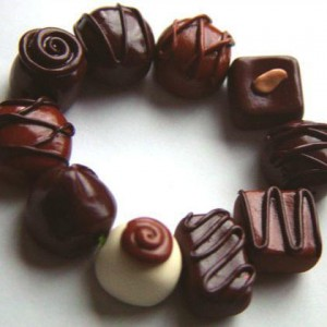 Chocolate Candy Bracelet Jewelry Idea